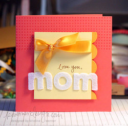 MACM - Simple Motheru0027s Day Card